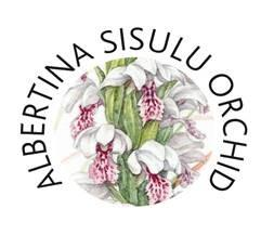 The Albertina Sisulu Orchid logo